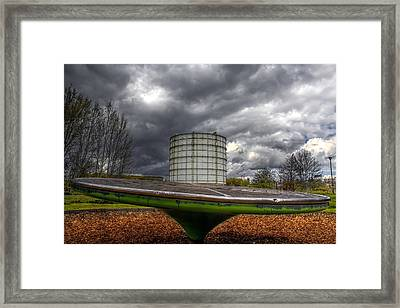 Play Time Framed Print by Lee-Anne Rafferty-Evans