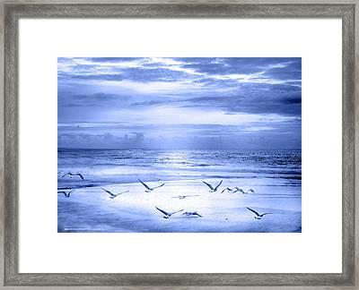 Playa De Traba Framed Print