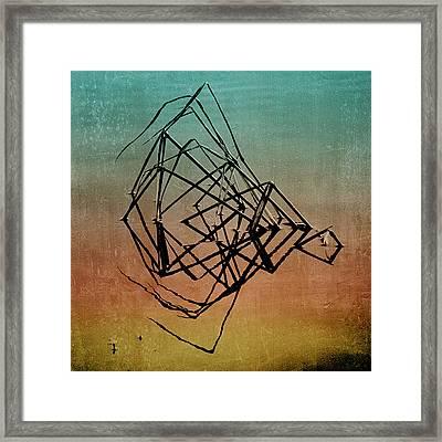 Playback Framed Print by Bonnie Bruno