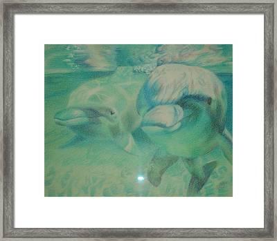 Playful Framed Print by Joanna Gates