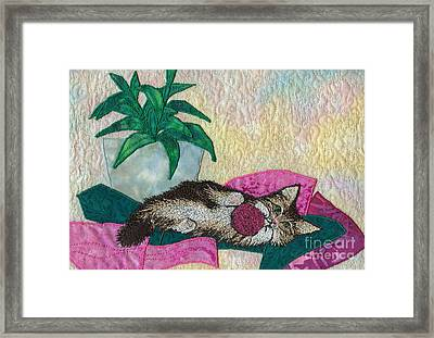 Playful Mischief  Framed Print by Denise Hoag