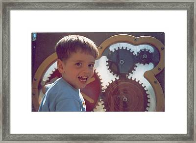 Playground Time Framed Print