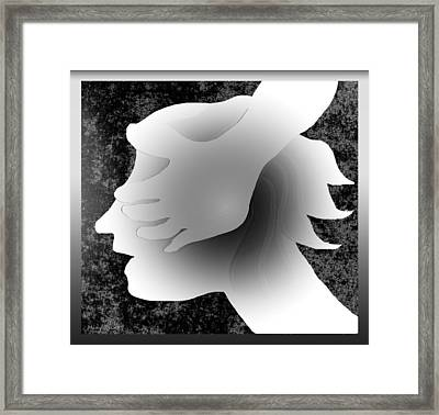 Playing Blindfold Framed Print by Asok Mukhopadhyay
