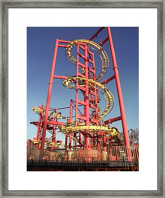Framed Print featuring the photograph Playland I by David Klaboe