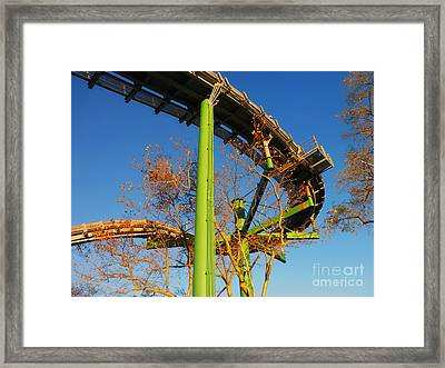 Framed Print featuring the photograph Playland II by David Klaboe