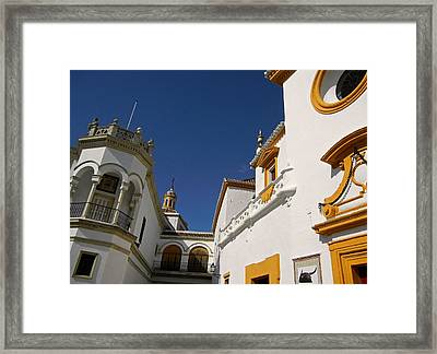 Plaza De Toros De La Real Maestranza - Seville Framed Print