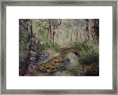 Pleasant Stroll Framed Print