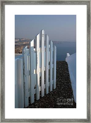 Framed Print featuring the photograph Please Come In by Vivian Christopher