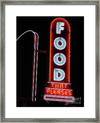 Pleasing To The Eye Framed Print by Mark Holbrook