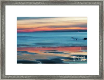 Plum Island Dawn Framed Print