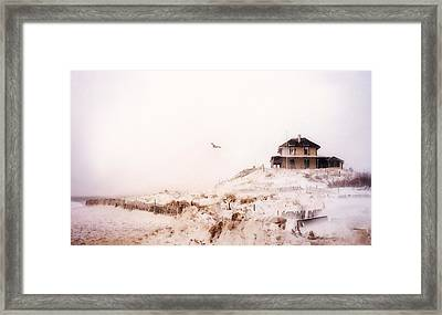 Plum Island Winter Framed Print