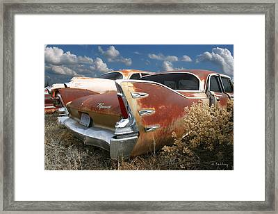 Plymouth Belvedere Framed Print by Andrea Kelley