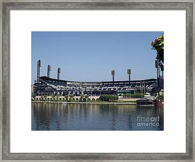 Pnc Park Framed Print by Chad Thompson