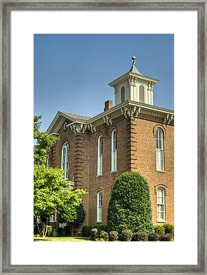 Pocahontas Arkansas Courthouse Framed Print by Douglas Barnett