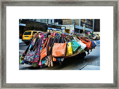 Pocketbooks And Purses Framed Print by Paul Ward