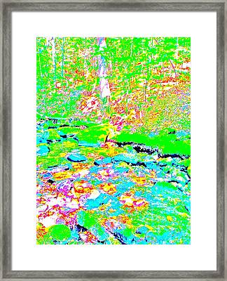 Poetic Brook 12 Framed Print