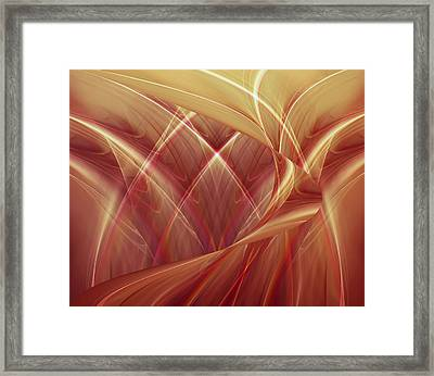 Poetic Emotions 2 Abstract Framed Print
