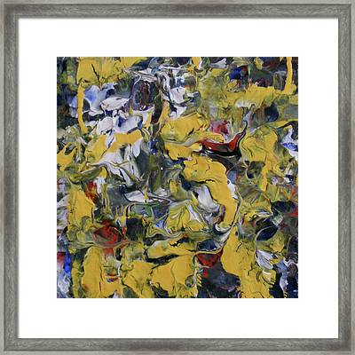 Poetry And Abstraction Framed Print by Pam Tapp