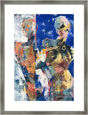Point - Counter Point I Framed Print by Charles B Mitchell