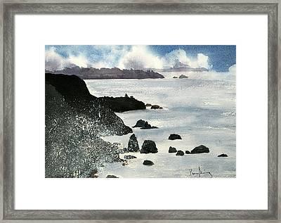 Point Bonita Lighthouse Framed Print