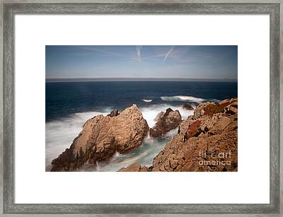 Point Lobos Number One Framed Print by Catherine Lau