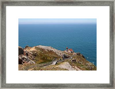 Point Reyes Lighthouse In California 7d15976 Framed Print