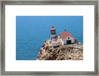 Point Reyes Lighthouse In California 7d15988 Framed Print