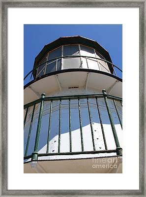 Point Reyes Lighthouse In California 7d16010 Framed Print