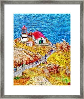 Point Reyes Lighthouse Framed Print