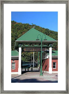 Point Stadium - Johnstown Pa Framed Print