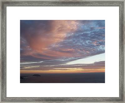 Point Sur Framed Print