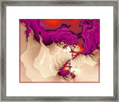 Point To Point Framed Print