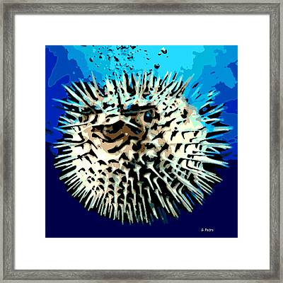 Pointed Opinion Framed Print