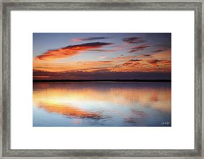 Pointing South Framed Print by Phill Doherty