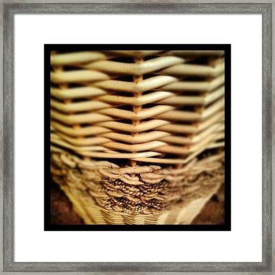 Points And Knots Framed Print