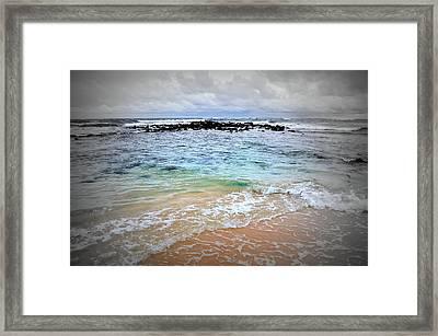Poipu Kauai Framed Print