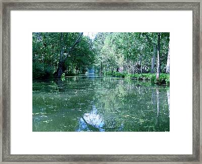 Poitevin Marsh Framed Print by Poitevin Marsh