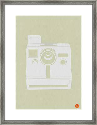 Polaroid Camera 3 Framed Print by Naxart Studio