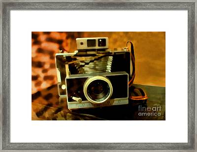 Polaroid Land Camera Model 100 . 7d13289 Framed Print by Wingsdomain Art and Photography