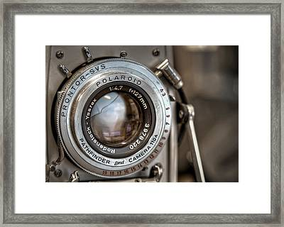 Polaroid Pathfinder Framed Print