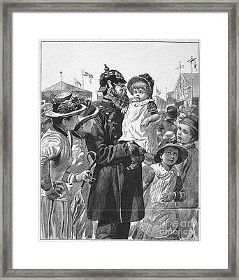 Policeman, 1885 Framed Print by Granger