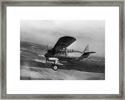 Polikarpov I-15, Soviet Fighter, 1935 Framed Print by Ria Novosti