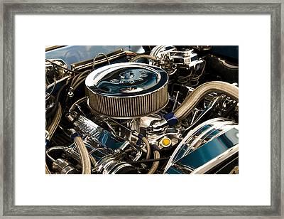 Polished Power Framed Print by Ricky Barnard
