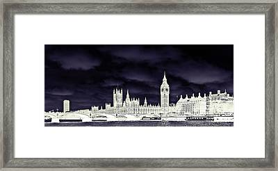 Political Storm Framed Print by Sharon Lisa Clarke