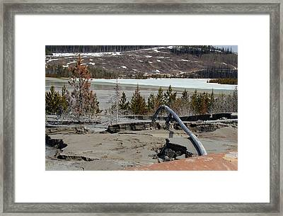 Polluting Framed Print by Kim French