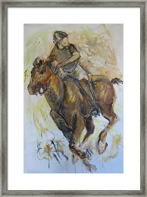 Polo 3 Framed Print