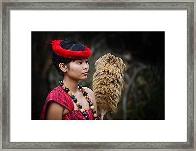 Polynesian Beauty Framed Print by Ralf Kaiser