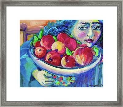 Pommes Framed Print