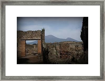 Pompei Framed Print by Kevin Flynn