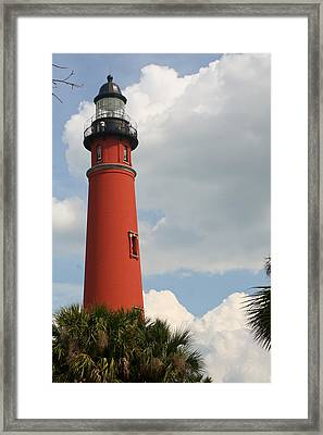Ponce Inlet Lighthouse II Framed Print